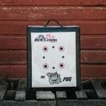 Doghouse Pug Archery Target