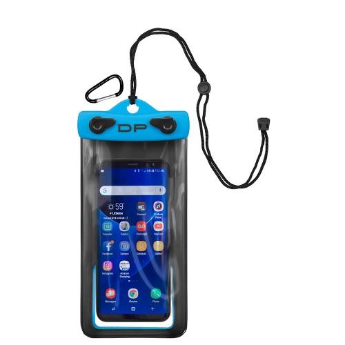 "Dry Pak Smartphone, GPS, MP3 Case - 4"" x 7"" - Electric Blue"