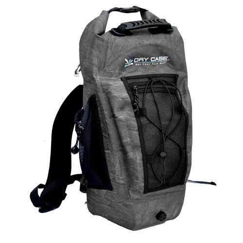 DryCASE Basin Black 20 Liter Waterproof Sport Backpack