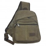 Disc. Shoulder Bag - Brown