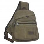 Disc. Shoulder Bag - Brown