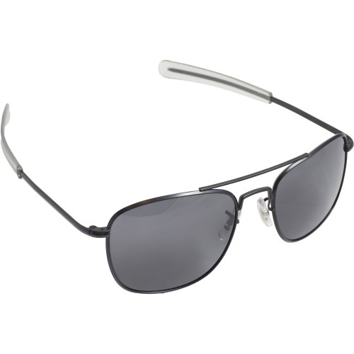 Pilot Sunglasses - 57mm, Black Frame