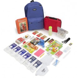 Keep-Me-Safe Children's 72 Hour Survival Kit: Color Options Available