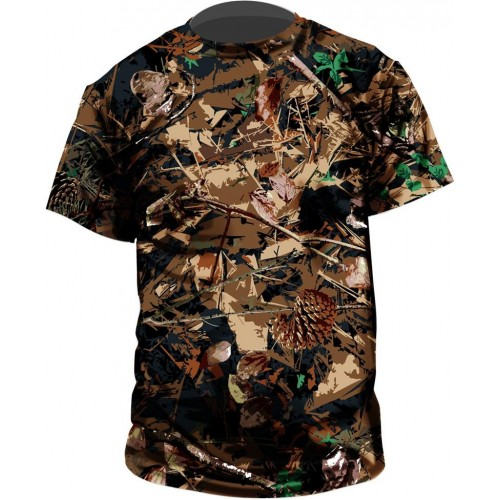 Standing Pine Outdoor Collection T-shirt, Shadow-Pine pattern