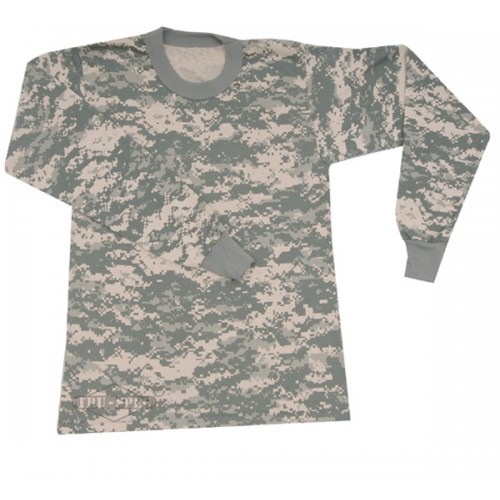 TRU-SPEC Long Sleeve Camouflage T-shirt - Army Digital