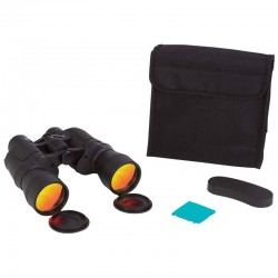 10 x 50 Binoculars with Ruby Red Coated Lenses for Glare Reduction