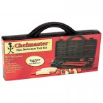 Chefmaster 15pc Stainless Steel Barbeque Set