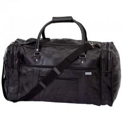 "Embassy 21-1/2"" Italian Stone Design Genuine Leather Tote Bag"