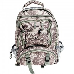 Extreme Pak Digital Camo Water-Resistant Backpack