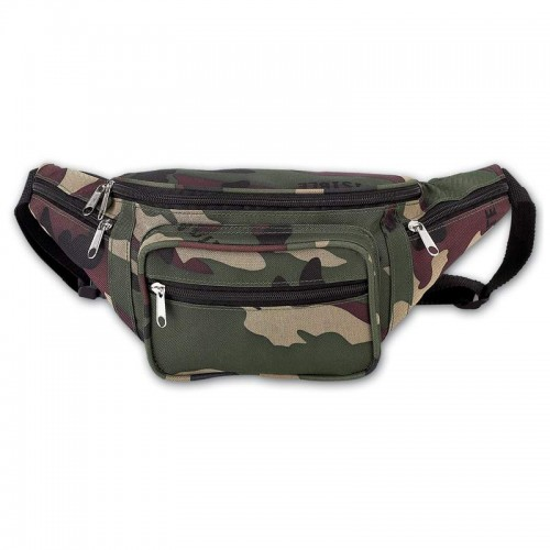 Extreme Pak Invisible. Pattern Camo Water Repellent Waist Bag