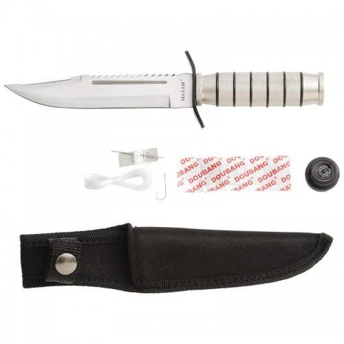 Maxam Fixed Blade Survival Knife