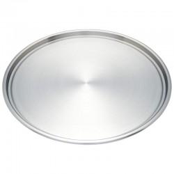 Maxam Stainless Steel Pizza Pan