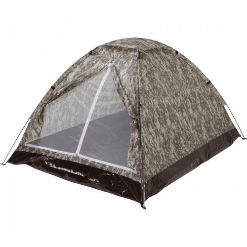 "The Maxam Digital Camo 2-4 Person Tent (Measures 82-5/8"" x 82-5/8"" x 51"")"