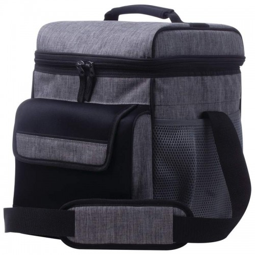 Lg Grey Cooler Bag