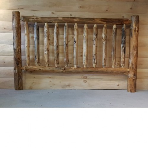 Northern Rustic Pine Log Railing and Post